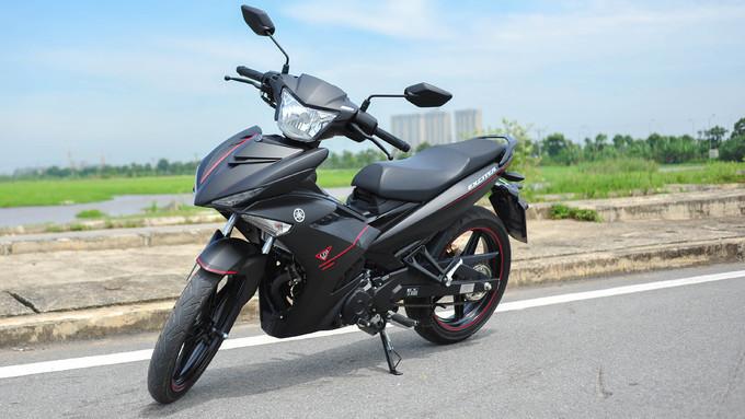 Yamaha Exciter 150 đen mờ mới - cạnh tranh Honda Winner 150