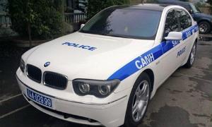 Chiếc BMW của CSGT Quảng Ninh gây xôn xao trên cộng đồng.