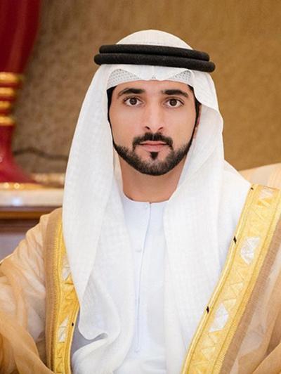 Hoàng tử Hamdan với vẻ đẹp trai khiến chị em mê mẩn. Ảnh: Tumblr