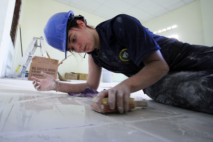 Hải quân Mỹ - Nhật cùng nhau làm 'thợ đụng'