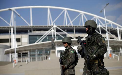 Brazil đang tăng cường an ninh và điều tra các mốicác mối đe dọa đối với Thế Vận hội Olympics