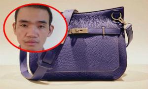 Tên cướp lộ mặt vì vợ nghèo dùng túi xách 5000 USD - dung tui xach hermes 5000 usd