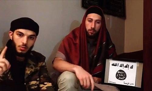 Hai kẻ tấn công nhà thờ Pháp thề trung thành với thủ lĩnh Nhà nước Hồi giáo. Ảnh: Sky News.