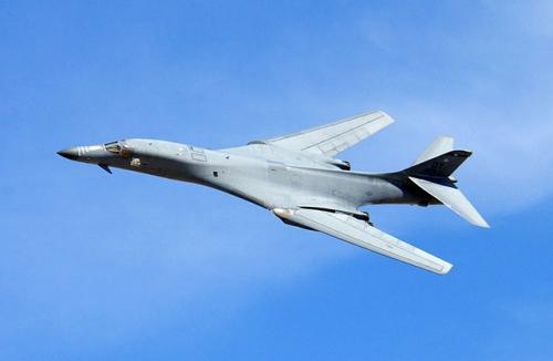 Máy bay ném bom B-1 của Mỹ. Ảnh: USAirforce