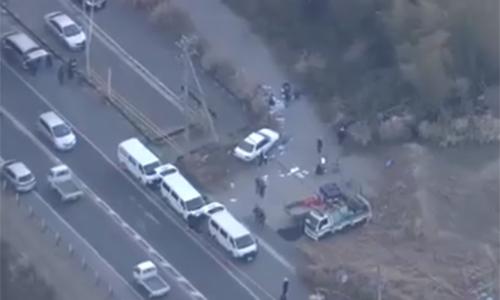 thi thể của cô mới được phát hiện trong những bụi cây dọc một đường cao tốc