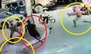 Tên cướp dây chuyền chạy trối chết vì cảnh sát và dân truy đuổi