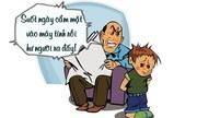 Trẻ con 'đau đầu' trước lý luận của người lớn