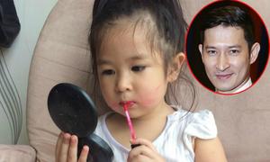 Con gái 4 tuổi của Huy Khánh bắt mẹ xin lỗi bố