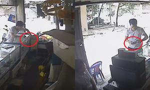 5 lần thò tay trộm điện thoại trước mặt chủ cửa hàng