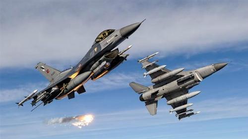 Tiêm kích F-16 của không quân Thổ Nhĩ Kỳ. Ảnh minh họa: PressTV