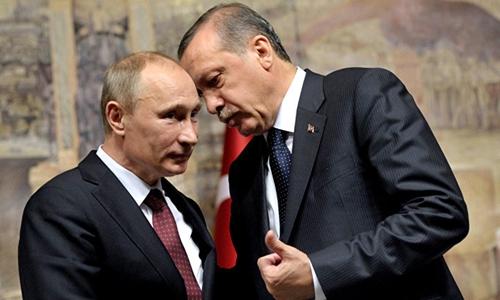 Ông Erdogan trông đợi cuộc gặp với ông Putin sẽ làm ấm lại quan hệ giữa hai nước. Ảnh minh họa: publika.md.