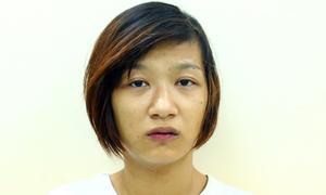Cô gái cướp giật dây chuyền đâm cảnh sát bị thương