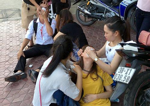 Cảnh sát đánh bạn gái cũ đang mang thai nhập viện bị phạt 3 triệu đồng - đánh bạn gái cũ