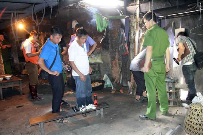Hiện trường vụ sát hại 4 người trong gia đình ở Lào Cai