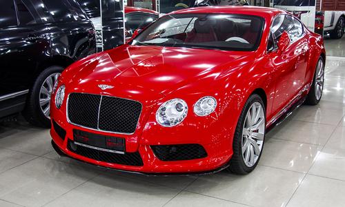 Siêu xe Bentley Continental GT V8 của đại gia Sài Gòn