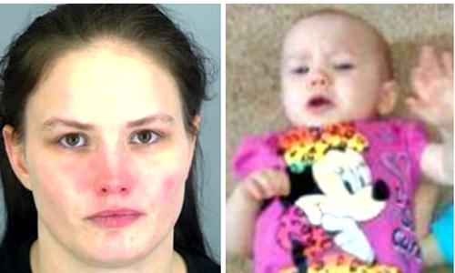 Một phụ nữ ở Mỹ bị bắt vì tội đầu độc con mình bằng muối. Ảnh: Scoopnest.com.