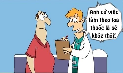 Bệnh nặng thêm vì trót theo toa thuốc của bác sĩ - 10 truyện cười hot nhất tuần qua