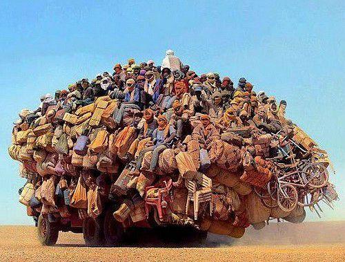 Những chiếc xe với sức chứa kinh khủng - phát minh bá đao, chỉ có ở Ấn Độ