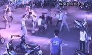 Hai nhóm thanh niên hỗn chiến náo loạn đêm Đà Nẵng