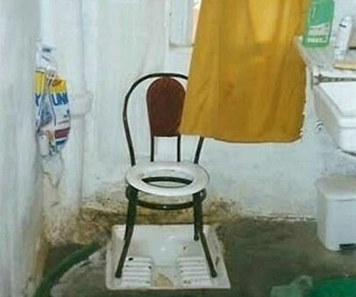 Nhà vệ sinh cũng phải thật lịch sự - phát minh bá đao, chỉ có ở Ấn Độ