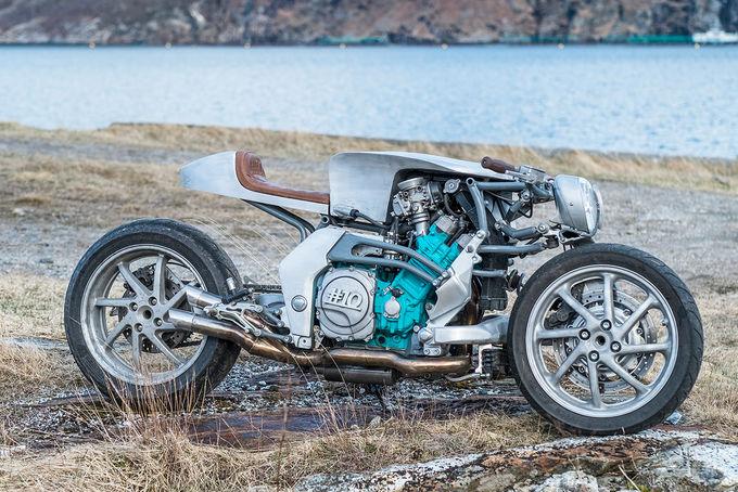 Yamaha GTS1000 - 'quái thú' phá cách của thợ Na Uy