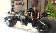 Thợ Việt chế siêu môtô Batman