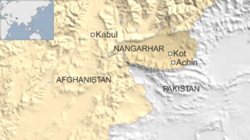 Vị trí tỉnh Nangar