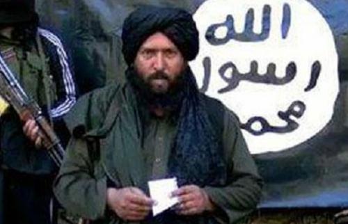 Hafiz Saeed Khan là chỉ huy IS ở Afghanistan và Pakistan. Ảnh: SITEINTELGROUP