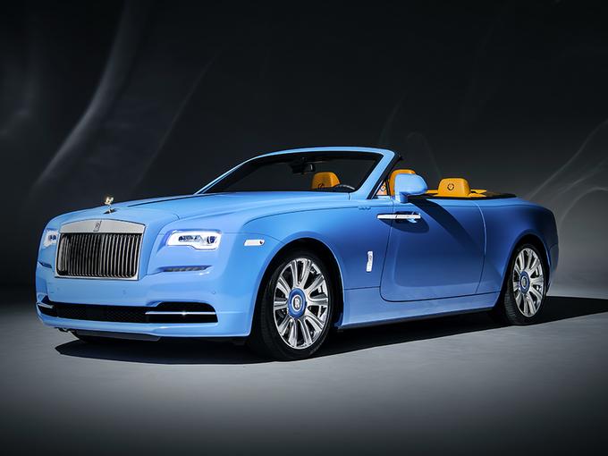Rolls-Royce Dawn xanh dương duy nhất thế giới