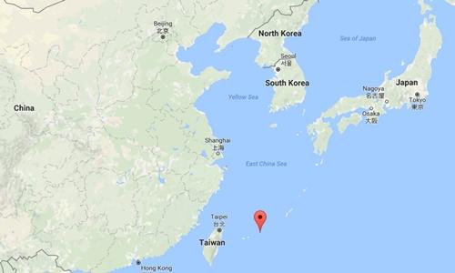 Vị trí đảo Miyako, Nhật Bản. Đồ họa: Google Maps.