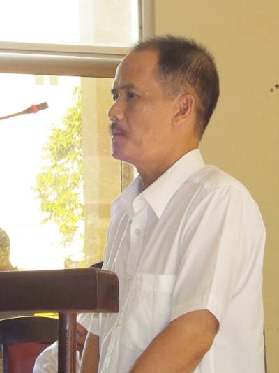 Nguyên giám đốc VAB Chi nhánh Bạc Liêu thừa nhận thành vi lừa đảo chiếm đoạt tiền đơn vị. Ảnh: Phúc Hưng