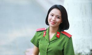 Nữ thủ khoa đầu tiên được phong hàm trung úy của ĐH Phòng cháy chữa cháy