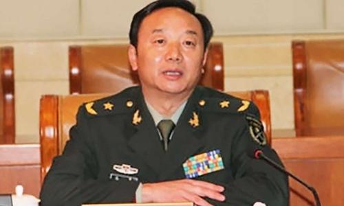 Tướng Trần Kiệt từng được Bắc Kinh cử sang Hong Kong trong lễ bàn giao về Trung Quốc năm 1997. Ảnh: SCMP.