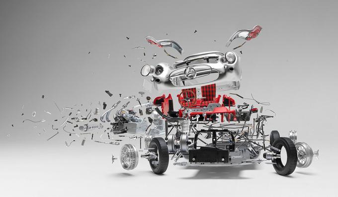 Khoảnh khắc ôtô 'nổ tung' qua ảnh nghệ thuật