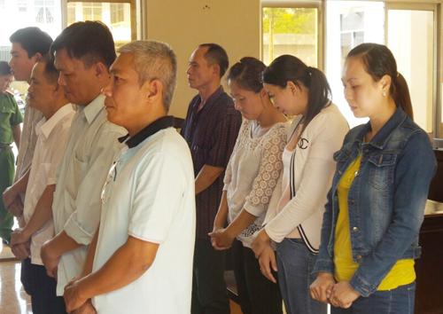 Lừa đảo, chiếm đoạt hàng chục tỷ đồng, tám cán bộ VietABank Chi nhánh tỉnh Bạc Liêu chia nhau hơn 100 năm tù giam. Ảnh: Phúc Hưng