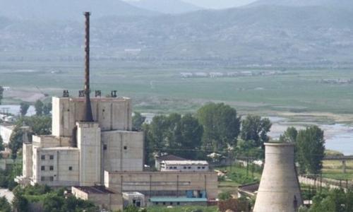 Lò phản ứng hạt nhân Triều Tiên ở Yongbyon. Ảnh: BBC.