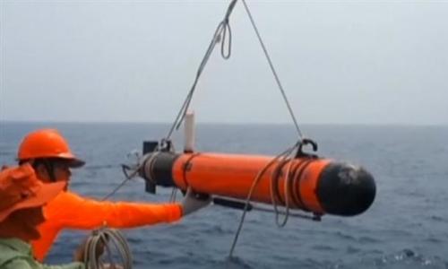 Tàu ngầm không người lái giá rẻ của Trung Quốc. Ảnh: Press TV.