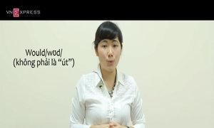 Phát âm từ 'would, could' trong tiếng Anh-Mỹ