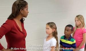 Video khiến người lớn suy nghĩ về cách nói chuyện với trẻ