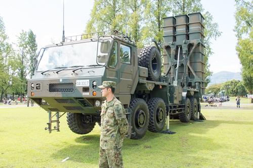 Tên lửa tầm trung đất đối không Type-03. Ảnh: Flickr