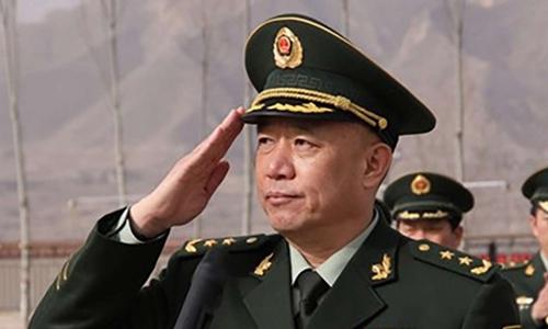 Thượng tướng Vương Kiến Bình có thể là người đầu tiên bị bắt khi đang tại vị trong quân đội. Ảnh: SCMP.