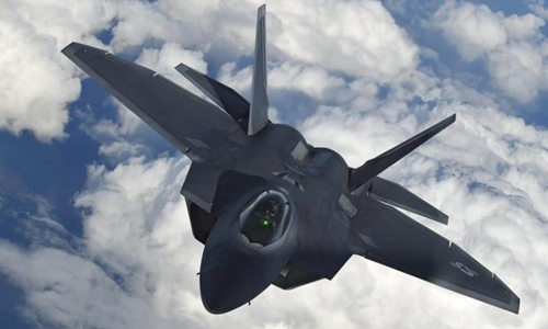 Chiến đấu cơ F-22 của Mỹ. Ảnh: Reuters.