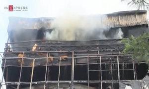 Hai vụ cháy liên tiếp cùng một con phố ở Hà Nội