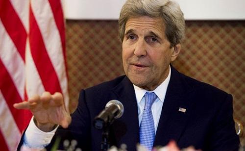 Ngoại trưởng Mỹ John Kerry. Ảnh: