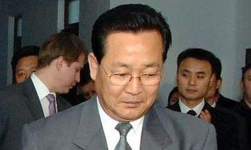 Ông Kim Yong-jin trong một sự kiện ngoại giao ở Bình Nhưỡng năm 2009. Ảnh: Wall Street Journal.