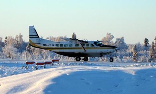 Máy bay thương mại Cessna 208 Caravan  cỡ nhỏ của Mỹ. Ảnh: Airport-data.