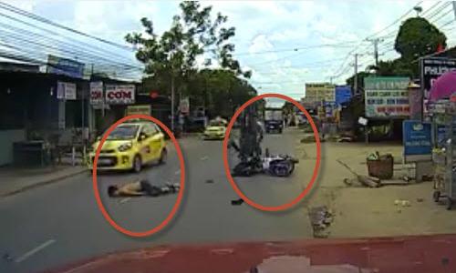 thanh-nien-nga-cam-mat-sau-cu-dam-duoi-taxi-1
