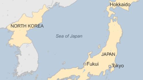Vị trí đảo Hokkaido, Nhật Bản. Đồ họa: BBC.