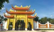 Nhà thờ Tổ nghề trăm tỷ đồng của Hoài Linh đang hoàn thiện