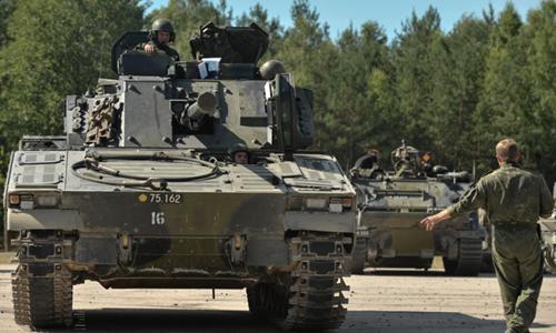 Binh sĩ Đan Mạch và Đức ở Latvia. ảnh: Defense 24.